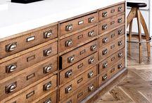 Antique storage