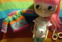 blythe and other dolls / by Sandra Orlando