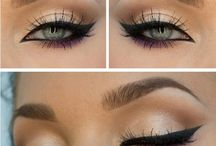 Make-Up. / Make-Up ideas, lips, eyes & face.