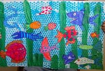 Ocean theme for Kinders / by Diane Goetschius