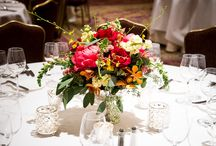 Compote Centerpieces / Beautiful Compote Centerpieces by Fat Cat Flowers...