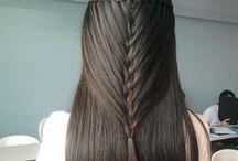 Cabelos / Inspirações de cabelos e penteados!