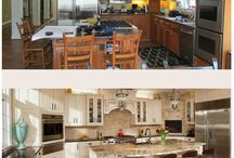 Before & Afters / Before and Afters of our Custom Home Remodels in Northern Virginia and Montgomery County, MD.