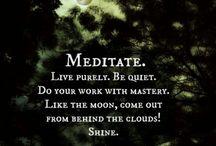 Meditation / by Art Ibarra