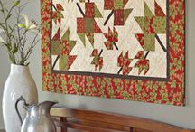 Leaf Runners & Quilts