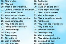 Outdoor Kids activities. / Top Kids activities and things to do for all the family.Get inspired on what to do and have fun.From kids activities outdoors to beach and the best activities.Get involved an have a perfect family fun.