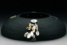 """01 Linda Aguilar / Chumash Basket Weaver  Uses horsehair and waxed thread, at SAR (2011),  DAM art-in-residence (2014), """"100 of America's Best Studio Craft Artists Since 1945"""", from Fort Collins, Colorado. She received her degree in studio art from the University of California, Santa Barbara."""