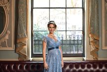 Amy Williams MBE x Tiffany Rose Maternity / We are delighted to unveil exclusive images of team GB Olympic Gold Medallist Amy Williams MBE modelling select pieces from the NEW Spring/Summer Collection.   Amy, who is due in March with her first child, models 7 of her favourite maternity occasion designs from the new Tiffany Rose SS17 Collection which includes dramatic floor length evening gowns, soft cherry blossom prints, blush pink lace dresses as well as two new bridal dresses.