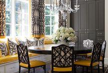 Dining & kitchen interior