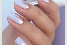 Manicure ślubny / #manicure #bridal #nails #wedding