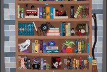 Quilts/bookcase