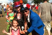 festival families - wild and crazy / Fabulous families at festivals