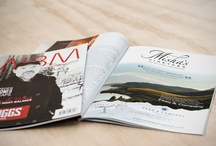 CLIENT - Misha's Vineyard / Swordfox are responsible for providing creative services to the successful Central Otago vineyard, ranging from impressive roll-fold brochures to exhibition graphics and even a theatrically themed online store.