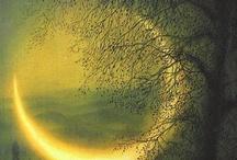 Moon & Sun / lua & sol