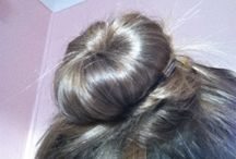 Some fun things to do / A nice looking hair bun that wear pretty much any wear and it looks very nice as you see in the picture  (Model for photo: me)