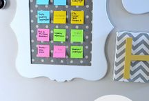 Back to School / Ideas to prepare for back to school in the home.