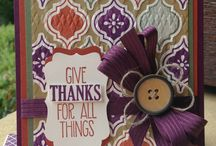 Cards: SU Give Thanks for all things