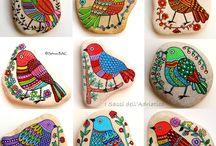 Stone art / Stenen beschilderen
