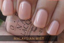 Bridal Nail Colours