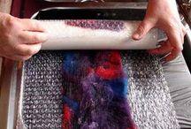 Wool felting
