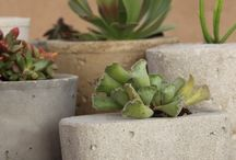 Home made planter boxes