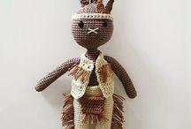 Crochet characters