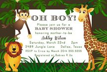 Baby shower invitations animal theme / collection picture of Baby shower invitations animal theme