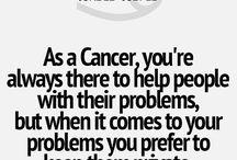 I'm a CaNCeR / My zodiac