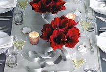 Amaryllis   Floral Design Inspiration / Amaryllis: one of the most beautiful flowers for the holiday season! Be inspired for all your wintery floral decorations!
