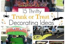 MOD Moms Trunk or Treat / MOD Moms is hosting a Trunk or Treat!  Here are some fun ideas we pinned to get you started!