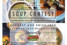 feedfeed soup contest / Entries from the feedfeed community into our Soup Contest - see graphic in this board for more details.