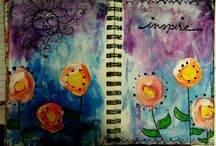 Crafts - Art Journaling / by Carlee Dise