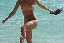Beach babes topless