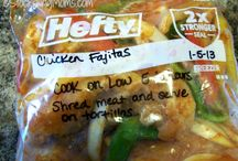 Freezer meals / by Sarah Harrison
