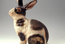 Sculptures Rabbits