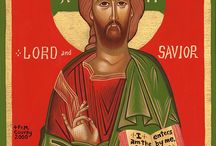 Tracings and icons of Christ