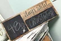 Christmas crafts(reclaimed wood)