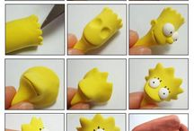 simpsons en plasticina