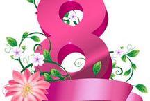 Felicitări de ziua femei pentru 1 şi 8 Martie