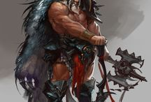 Warrior Art & Reality / Warriors depicted in artwork, both fictitious and Real.