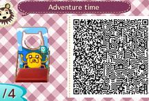 QR codes (ACNL) / Animal Crossing: New Leaf QR codes I find cute! / by Connor Martinez