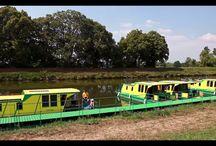 Boat rental / Půjčovny na Baťově vodní cestě