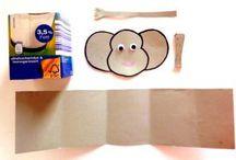 Arte con cajas de cartón
