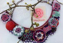 Springtime!!! / Hand made necklaces