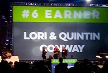 Top Earner Awards / Business accolades received since we have worked from home together.