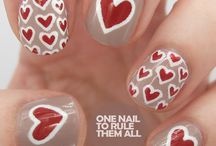 Nails - Hearts