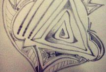 Dibujando / Un poco de lo que dibujo ...