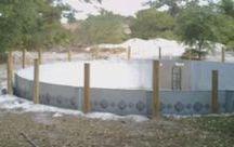 zwembad  in de  grond bouwen