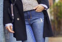 jean/blazer style