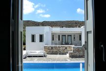 Villa Verina Vathi / A luxurious complex of three houses in the island of Sifnos